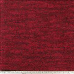 CCW6-20- Burgundy Crackled Fabric