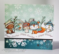 Critter Christmas by thecircleguru - Cards and Paper Crafts at Splitcoaststampers