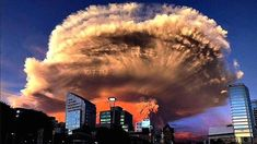Amazing photo of the Calbuco eruption