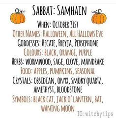 Witchy Tip : Samhain Green Witchcraft, Wiccan Witch, Wicca Witchcraft, Magick, Wiccan Magic, Wiccan Sabbats, Paganism, Witchcraft For Beginners, Samhain Halloween