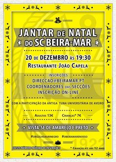 SPORTS And More: @OrgulhoAuriNegro @Aveiro @SCBeiraMar christmas di...