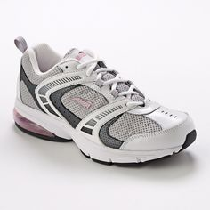 Avia 6555 athletic Shoes Walking Lace-up in white gray pink Women's size 11 NEW #Avia #Walking
