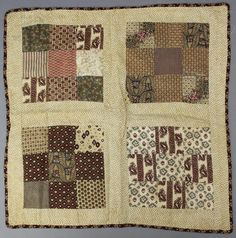Buy online, view images and see past prices for Doll Quilts. Invaluable is the world's largest marketplace for art, antiques, and collectibles. Crib Quilts, Old Quilts, Antique Quilts, Small Quilts, Mini Quilts, Vintage Quilts, Primitive Quilts, Miniature Quilts, Quilted Pillow