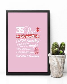 35 Year Anniversary 35th WeddingT-Shirt - Classic Pink wedding hastag, capelet wedding, photojournalism wedding #weddinggown #weddingstyle #weddingflowers, back to school, aesthetic wallpaper, y2k fashion