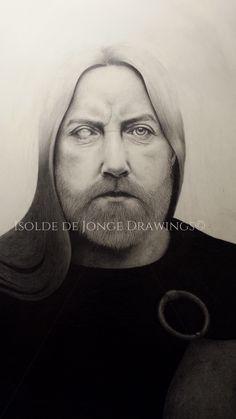 """Odin"". Pencil on paper. 2014."