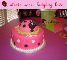 Alexis Rose Ladybug Love