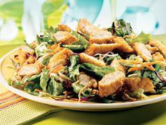 Applebee's Oriental Chicken Salad Copy Cat Recipe - (you have to scroll down the page)