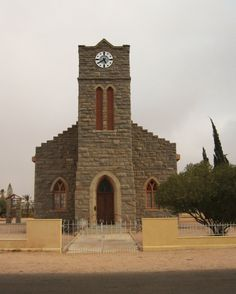Small Church in Pofadder N Cape Religious Architecture, Old Churches, Church Building, 10 Picture, Place Of Worship, Mosques, Cathedrals, Towers, South Africa