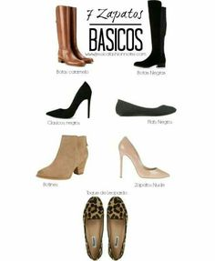 Los básicos en zapatos