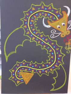 We are a little late for the Chinese New Year but we discussed the tradition anyway and the kids are really enjoying the project. We are reviewing some of the basic art elements of line, shape, pat...