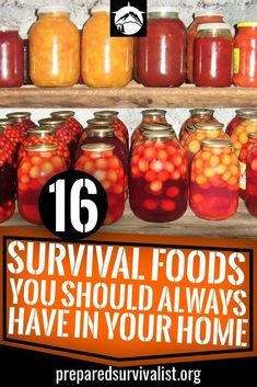survival food for your whole family in case of an emergency. No need for endless how to can food tutorials. Just start storing these survival foods and you're golden.