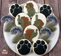 Jungle Book cookies, elephant cookies