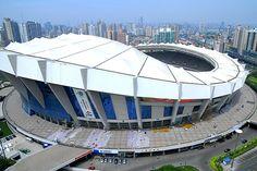 北京オリンピック2008 競技会場 Shanghai Stadium - JOC
