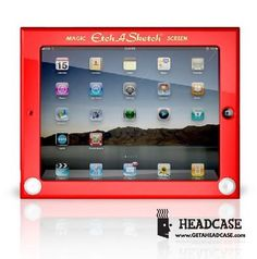 Etch-A-Sketch cover for IPAD. Who wouldn't love this?