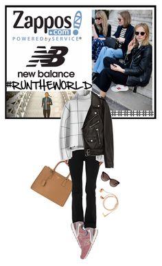 """Run the World in New Balance"" by lsamsam ❤ liked on Polyvore featuring Prada, New Balance, New Balance Classics, Chicwish, Jakke, Tom Ford, Happy Plugs and NewBalance"