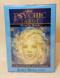 Psychic Tarot Oracle Deck by John Holland New by EnchantedLuminary