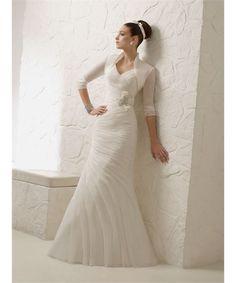 d53f1e44451fb 2013 Newly Arrived Fabulous V-neck Fabulous Ruffled Mermaid Style Wedding  Dress Dress P