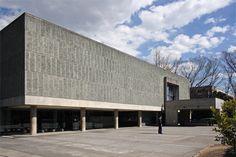 国立西洋美術館  設計者:ル・コルビュジエ  竣工 :1959年  住所 :東京都台東区上野公園7−7  ★重要文化財
