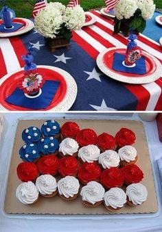 Cute cupcake cake