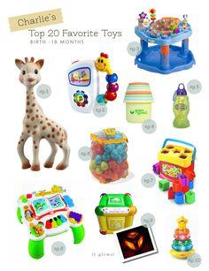 Favorite Toys Birth - 18 Months