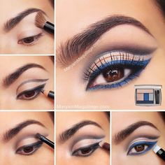Flawless look with smokey eye