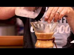 How to Brew Iced Coffee with a Chemex - YouTube