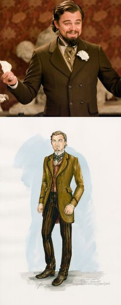 "From ""Django Unchained"" (2012) worn by Leonardo DiCaprio as Calvin Candie design by  Sharen Davis"