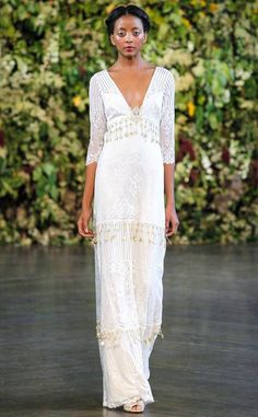 Reem Acra from Best Looks From Fall 2015 Bridal Collections | E! Online