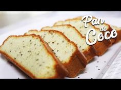 Pan keto de Coco - Joha Living - homemade and simple coconut bread Sin Gluten, Vegan Gluten Free, Keto Cake, Low Carb Sweets, Fodmap, Healthy Drinks, Keto Recipes, Food And Drink, Bread