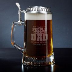 If you're searching for a gift for your beer loving dad, you can stop right now. We've found the perfect thing.