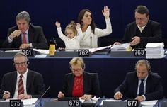 European MP with Baby
