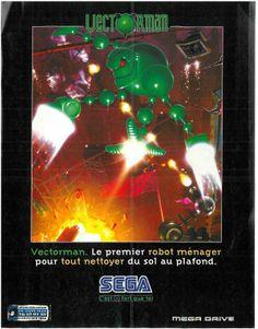 Vectorman for Mega Drive (France, Sega, December 1995)