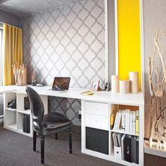Accord jazzé dans le bureau - Bureau - Inspirations - Décoration et rénovation - Pratico Pratique