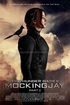 hijackedpeetad12: Mockingjay Part 2 + Katniss in Black Mockingjay Suit