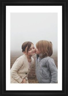 Photo Gallery Framed Print, Black, Classic, None, White, Single piece, 20 x 30 inches