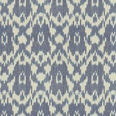 """old blue"" ikat from Calico Corners.  Maybe not the right blue though."