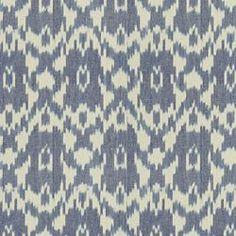 caravan ikat - old blue $46.99/yd