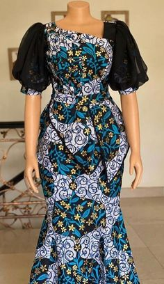 African Dresses For Kids, African Maxi Dresses, Ankara Dress Styles, Latest African Fashion Dresses, African Print Fashion, African Attire, African Print Dress Designs, African Traditional Dresses, Nigerian Outfits