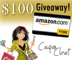 $100 amazon gift card giveaway - Enter to win through December 10th, 2012