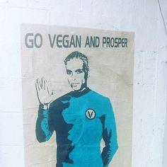 Výsledek obrázku pro go vegan street art