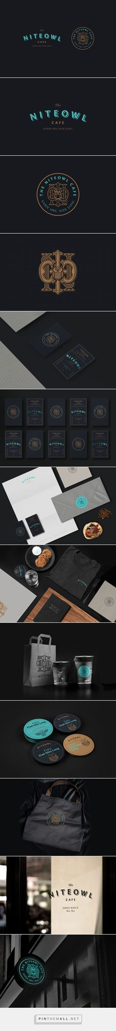 The Niteowl Cafe on Behance - created via https://pinthemall.net