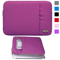 Lacdo 11-11.6 Inch Waterproof Neoprene Sleeve Case Bag / Notebook Computer Case / Briefcase Carrying Bag / Ultrabook Laptop Bag Case / Pouch Cover [with Exterior Zipper Pocket] for Apple MacBook Air 11.6-inch / for Acer C720 Chromebook/ Acer Aspire E3-111 / Asus X205TA / ASUS Q200E / HP Stream 11 Laptop / Samsung Chromebook XE303C12 / Dell Inspiron 11.6-Inch / Fujitsu / Lenovo / Sony / Toshiba (Purple) Lacdo http://www.amazon.com/dp/B00VVLEGFC/ref=cm_sw_r_pi_dp_zhjzvb02DA2Q4