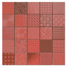 Rojo Tiles Patchwork Mosaic Effect Mosaic Tiles from Walls and Floors - Leading Tile Specialists - Over 20 Million Tiles In Stock - Sold Per SQM Red Brick Tiles, Red Tiles, Cardiff, Ceramic Wall Tiles, Mosaic Tiles, Red Kitchen Tiles, Kitchen Walls, Wall Tile Adhesive, Porch Tile
