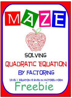 Maze - FREEBIE - Sol