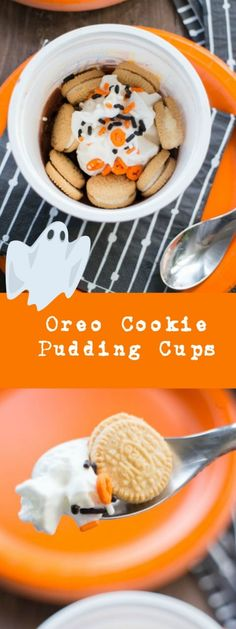 OREO Cookie Pudding Cups is a sweet treat made in less than a minute.  #SnackAndGo #ad