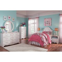 Ashley Furniture Signature Design - Korabella Panel Headboard - Twin - Kids Bedroom - White ** You can get more details by clicking on the image. (This is an affiliate link) #KidsFurnitureDcorStorage