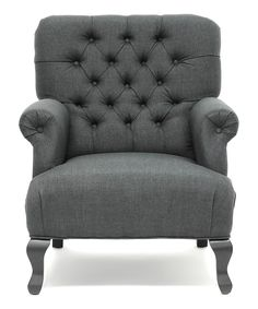 Great tufted armchair.