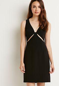 Contemporary Cutout Bodycon Dress