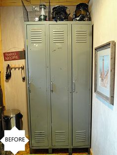 10 unique ways to repurpose old lockers | Hometalk