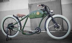 レトロなバイク風の電動自転車「OtoR」                                                                                                                                                                                 もっと見る